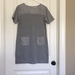 Loft Grey Pocket Dress